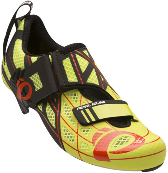 Zapatos amarillos con velcro Pearl Izumi para mujer SioCazG9Z5